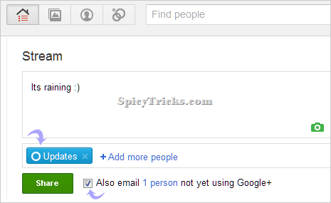 How To Update Facebook status from Google+ automatically