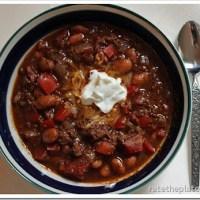Eat In Recipe: DP Chili