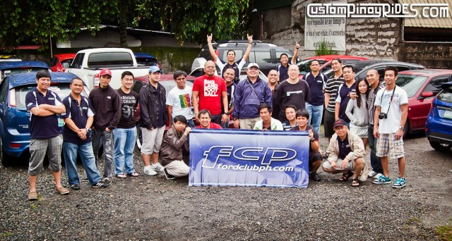 Ford Club Philippines Group Shot Custom Pinoy Rides