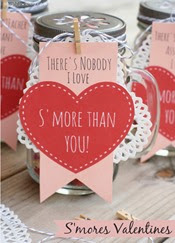 A Night Owl Blog - Smores Valentine
