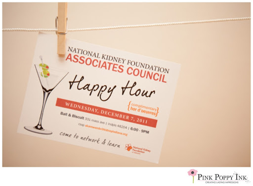 Happy Hour Invitation by Pink Poppy Inc DESIGN graphics - construction manager resume