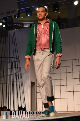 Playful getup during the Mensweek Fashion Show at Abreeza