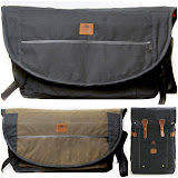 Wheelmen & Co. Canvas and Leather Messenger Bags ($165) and Backpacks ($210)