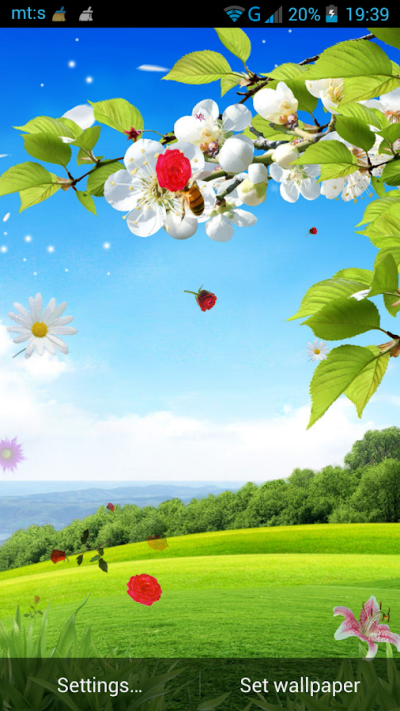 Spring Live Wallpaper - Android Apps on Google Play