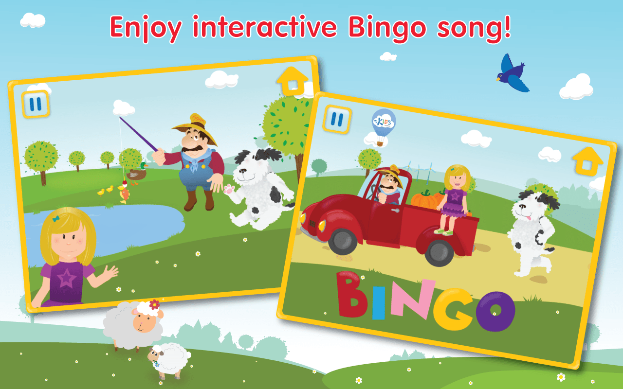 Baby Children Nursery Rhyme Song Nursery Rhymes Bingo Song Hd Android Apps On Google Play
