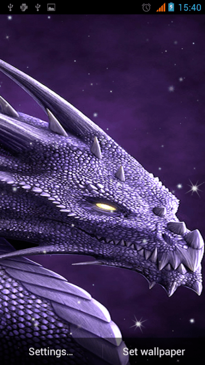 Dragon Live Wallpaper - Android Apps on Google Play