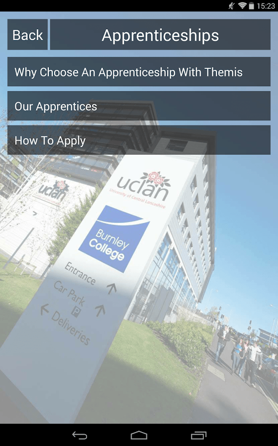 Courses Available Burnley College About Burnley College Android Apps On Google Play