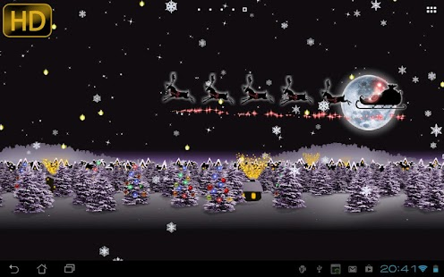 Earth 3d Live Wallpaper Windows 7 Christmas Live Wallpaper Android Apps On Google Play