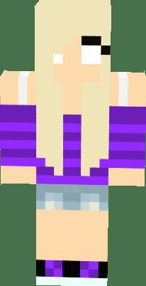 Minecraft Wallpaper 3d Herobrine Herobrine Girl Nova Skin