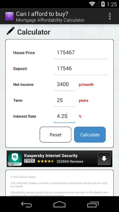Mortgage Calculator UK - Android Apps on Google Play