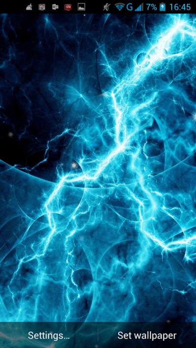 Electric Plasma Live Wallpaper - Android Apps on Google Play