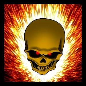 Download Flaming Skull Live Wallpaper for PC