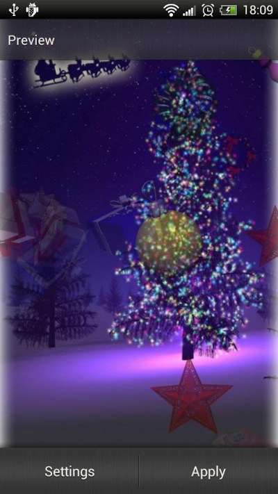 Fondo De Pantalla De Arbol De Navidad 3d Animado | newhairstylesformen2014.com