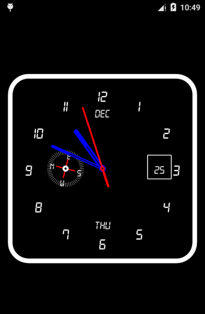 Clock Live Wallpaper - Android Apps on Google Play