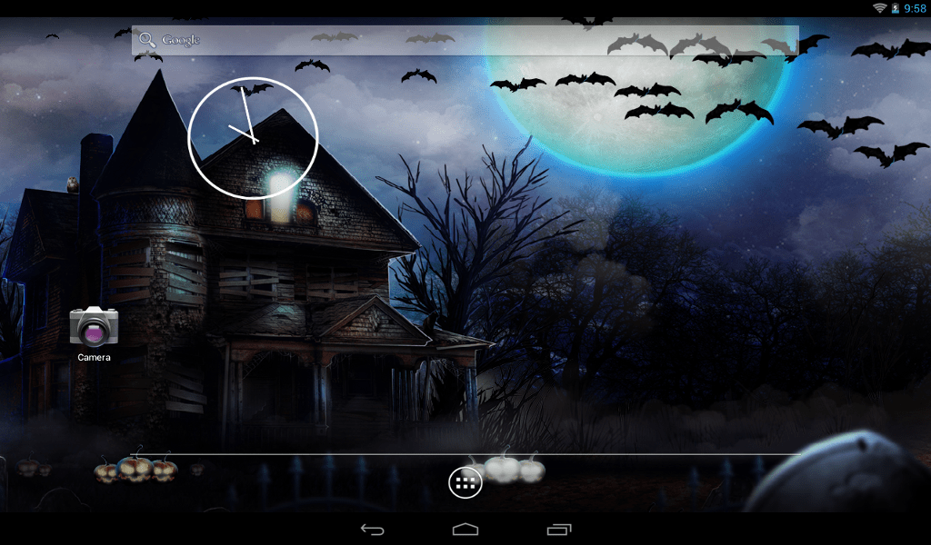 3d Wallpaper Parallax Free Apk Download Halloween Live Wallpaper Android Apps On Google Play