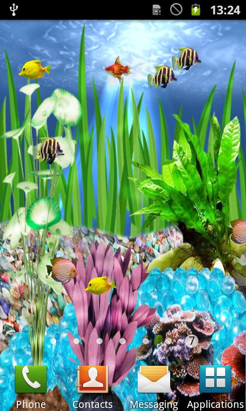 Download 3d Rose Live Wallpaper Full Version Download The Fish Aquarium Live Wallpaper Android Apps On