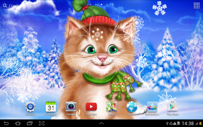 Winter Cat Live Wallpaper - Android Apps on Google Play
