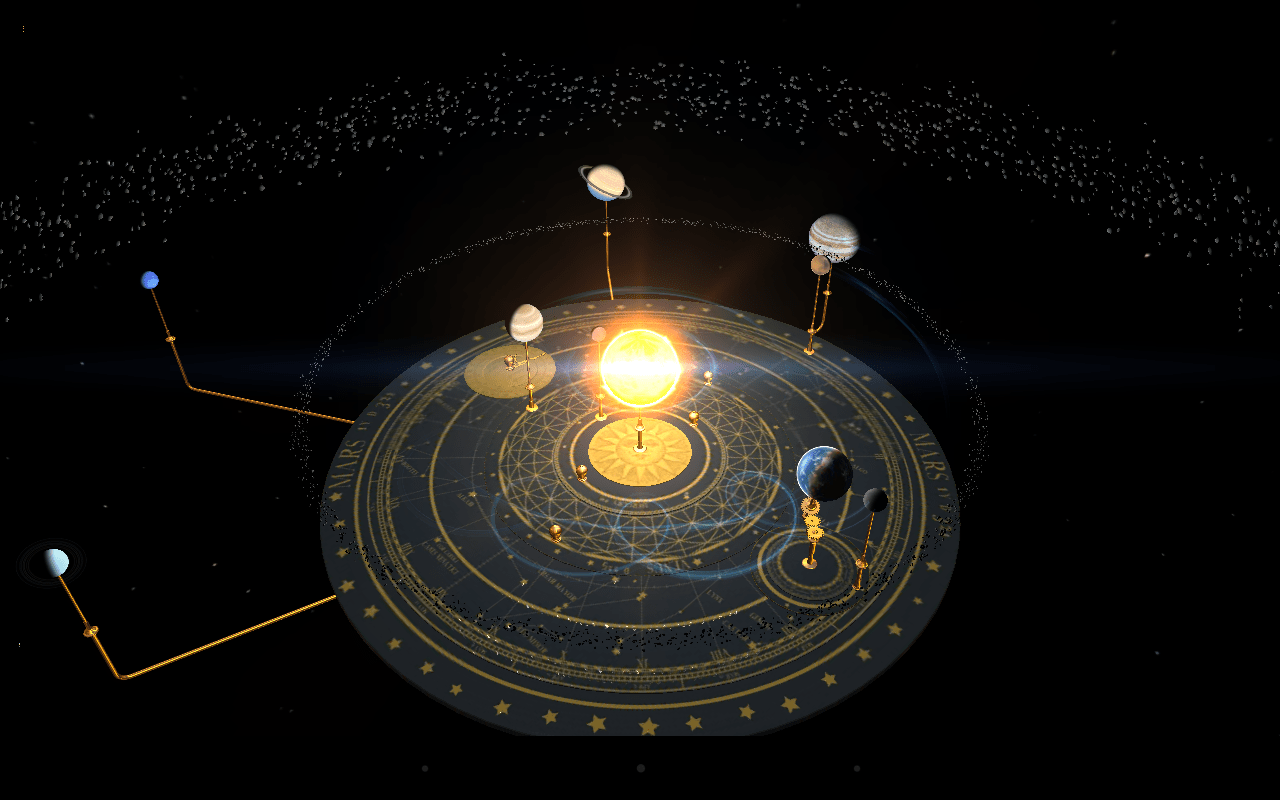 Solar System 3d Wallpaper Orrery Google Play의 Android 앱