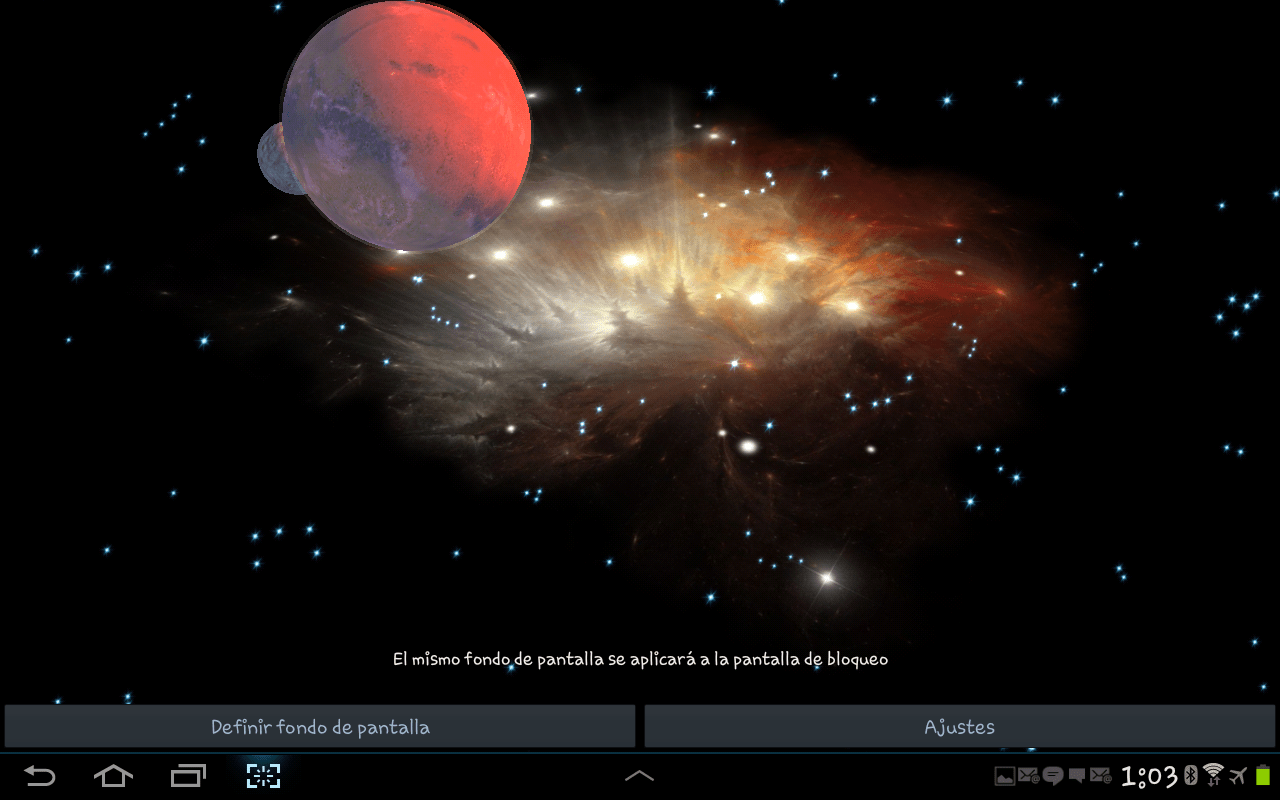Asteroids 3d Live Wallpaper For Pc 3d Galaxy Live Wallpaper Android Apps On Google Play