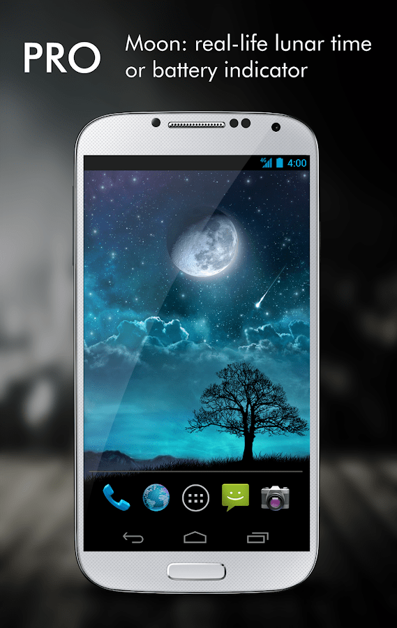 3d Parallax Weather Live Wallpaper For Android Os Dream Night Pro Live Wallpaper Android Apps On Google Play