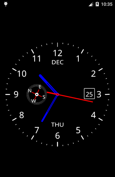 Clock Live Wallpaper - Android Apps on Google Play