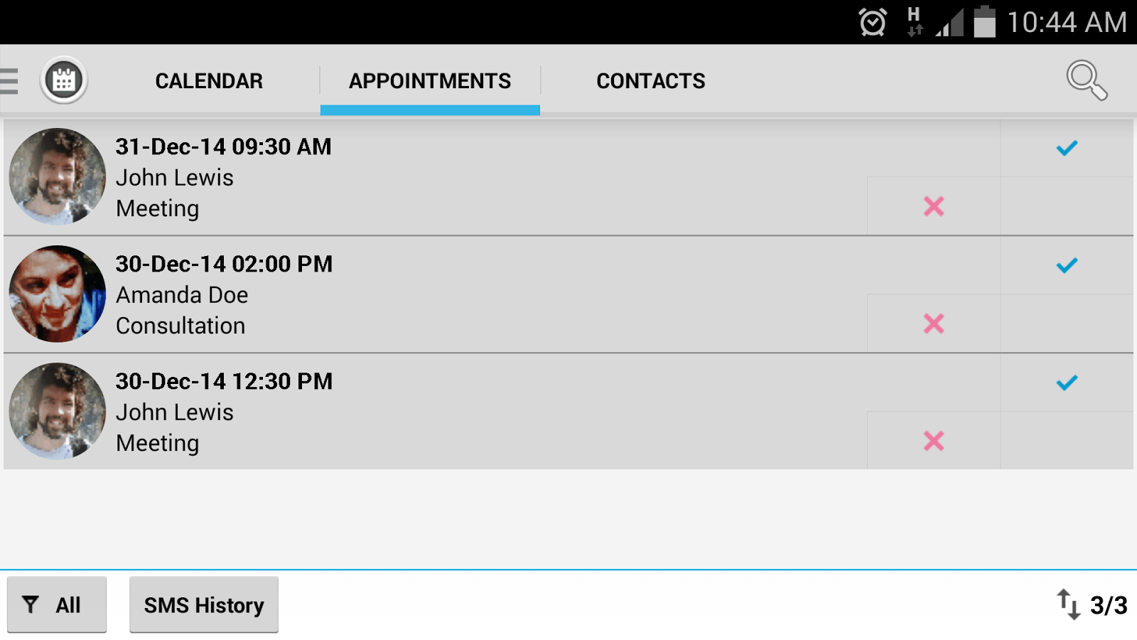 Free Interactive Appointment Calendar Practice Management Software Simplepractice Appointment Manager Android Apps On Google Play