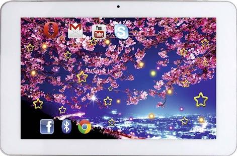 Sakura Falling Live Wallpaper Apk App Sakura Magic Live Wallpaper Apk For Kindle Fire