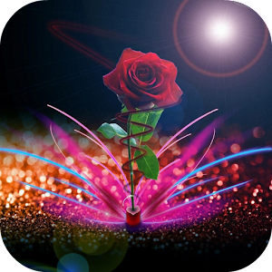 3d Parallax Weather Live Wallpaper For Android Os Rose Live Wallpaper Android Apps On Google Play