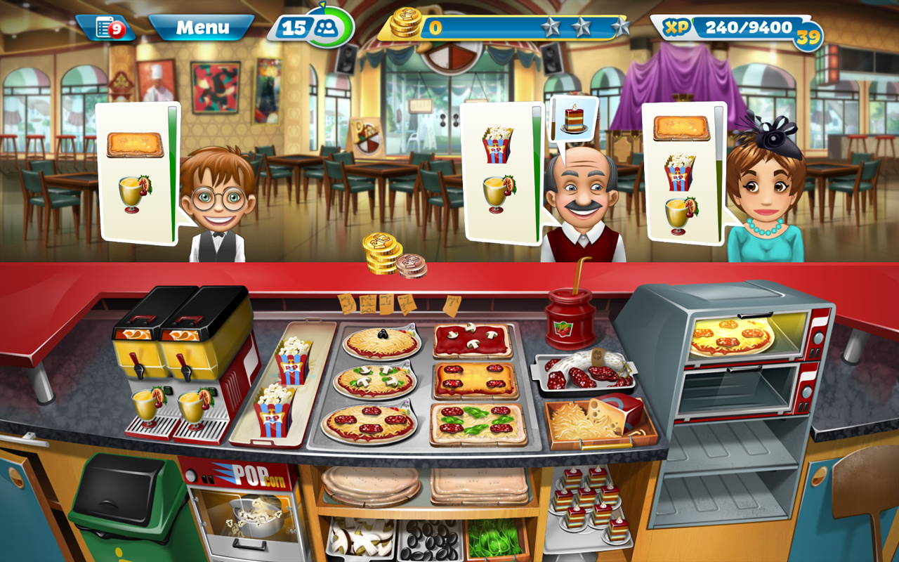 Juefos De Cocina Cooking Fever Android Apps On Google Play