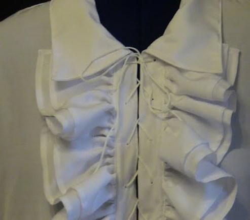 chemise romantique