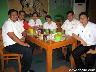 Brewing Department, circa 2010 (L-R): Alvin, Franco, Blessel, Zeny, Roel & Chito