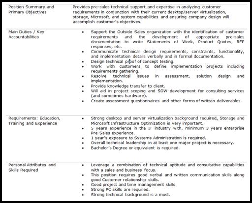 Sample Resume Vmware Professional resumes example online