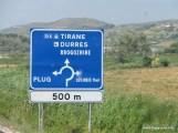 Sign to Tirane.JPG