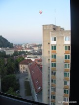 View from Hostel - Ljubljana.JPG