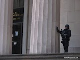 Heavily Guarded Building - Wall St - New York-1.JPG
