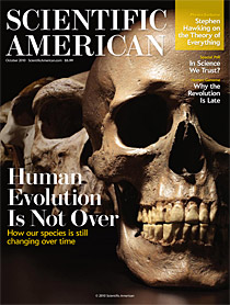 Scientific American October 2010