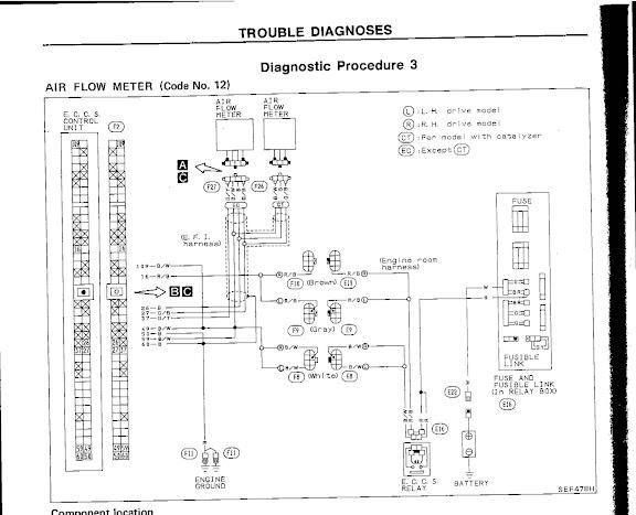 ca18det z32 afm wiring diagram