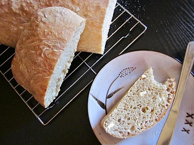 no knead ciabatta