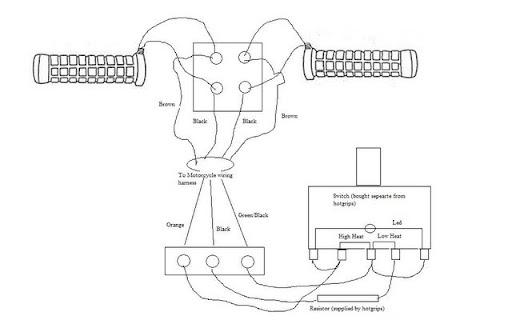 ski doo wiring diagram hot grips