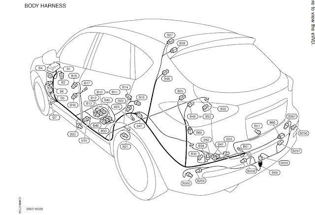 nissan rogue trailer wiring harness
