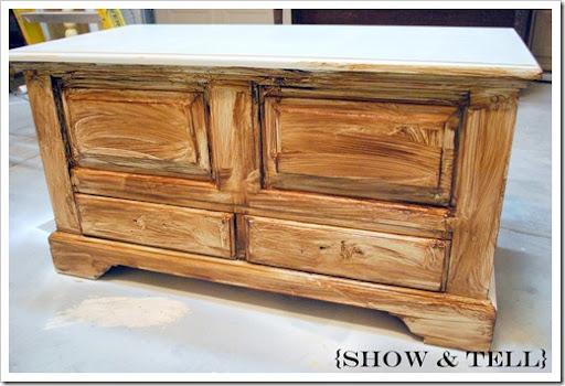 How I Glaze Furniture}   Sweet Pickins Furniture