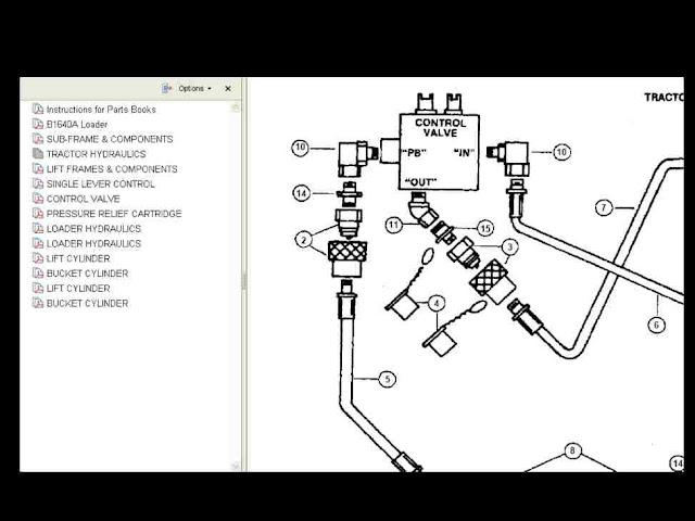 b7200 kubota hydraulics diagram