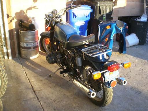 1974 BMW R90 /6 Rebuild  Modifications Adventure Rider