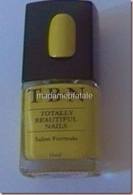 tbn fluro yellow #904