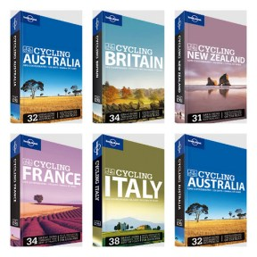 Lonely Planet Cycling Guides - $37