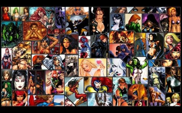 Comic Book Girls