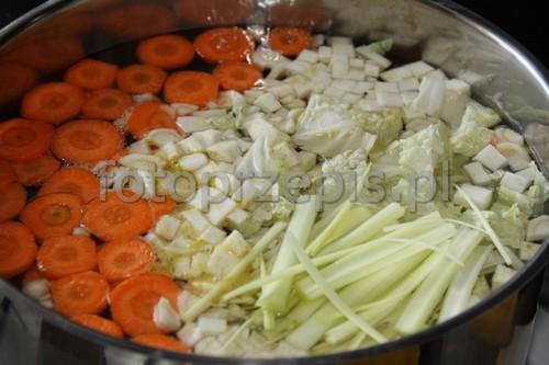 Barszcz Ukraiński zupy srednie polska obiad codzienne  przepis foto
