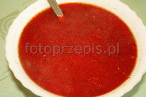 Zupa Buraczkowa (Barszcz Czerwony)