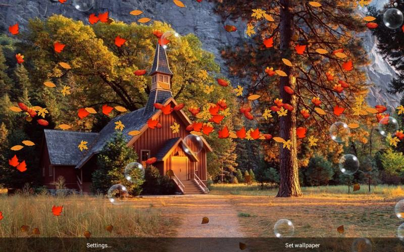 Fall Season Live Wallpaper For Android Autumn Live Wallpaper Android Apps On Google Play