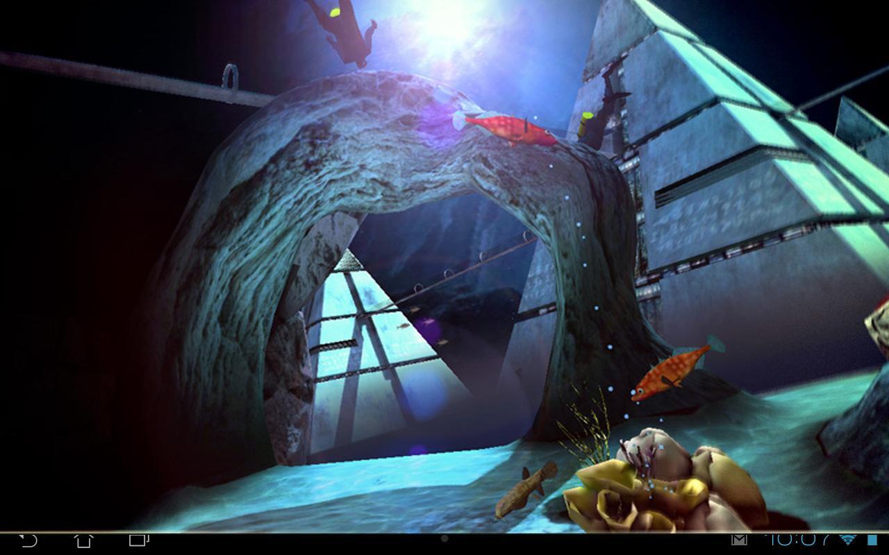 Atlantis 3d Pro Live Wallpaper Atlantis 3d Free Lwp Android Apps On Google Play